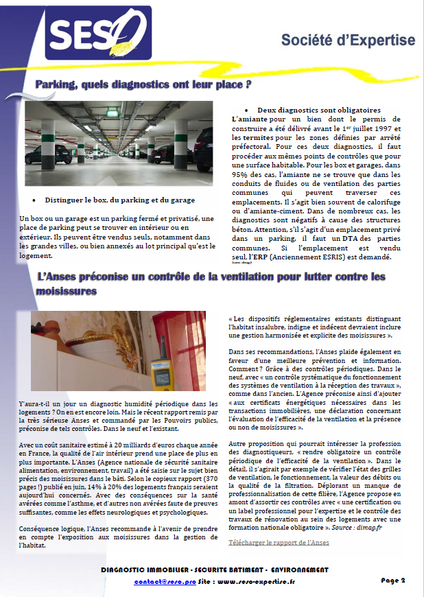 NEWS OCTOBRE 2018 PAGE 2